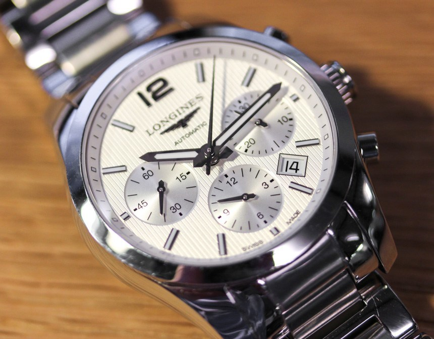 Longines Conquest Classic Chronograph Watch Review