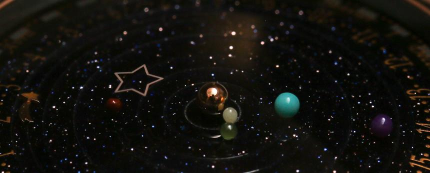 Van Cleef Arpels Complication Poetique Night Time Planetarium Watch Hands On Swiss Designer Watches For Men