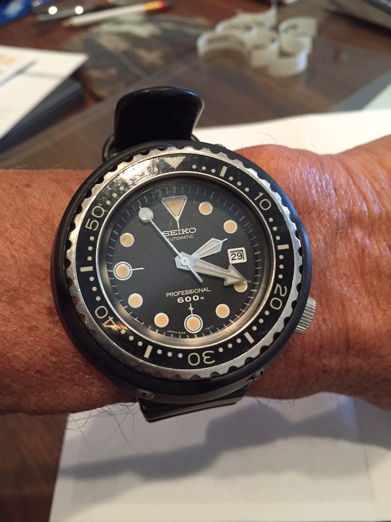 #TBT Extra - Seiko 6159 Tuna original owner