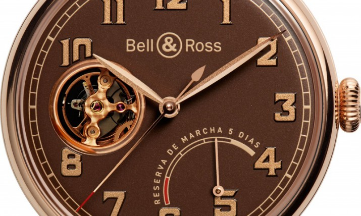 Bell & Ross Vintage WW1 Chocolate Color Watch