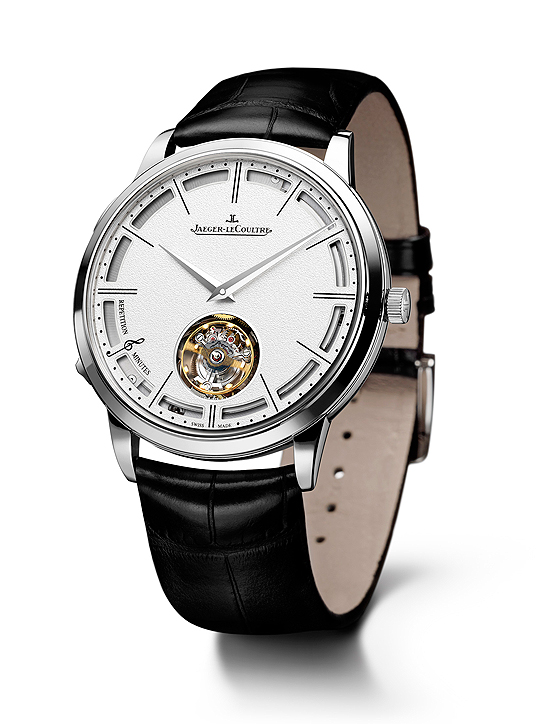 Jaeger-LeCoultre Slim Minute Repeater Tourbillon Watch