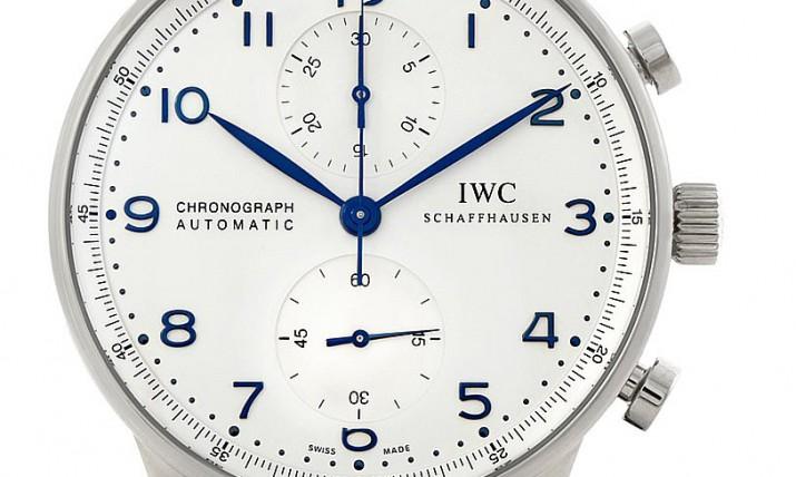 IWC Luxury Chronograph Automatic Men's Watch