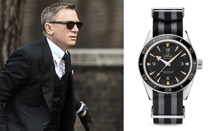 """James Bond New Style:The Omega Seamaster 300 """"SPECTRE"""" Limited Edition"""
