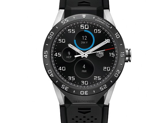 TAG Heuer Presented The Smartwatch To Against Apple Smartwatches