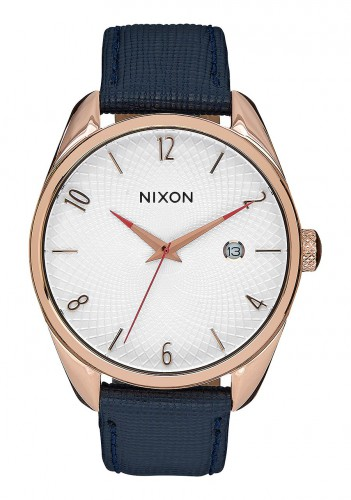 Front of Nixon 38 mm Bullet Leather ladies watch