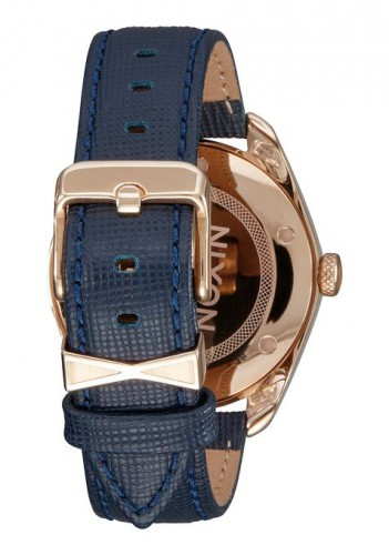 Nixon 38 mm Bullet Leather ladies watch caseback