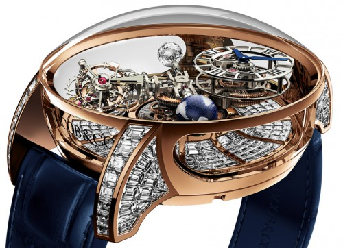An Excellent Astronomia Tourbillon Crafted From Jacob & Co.