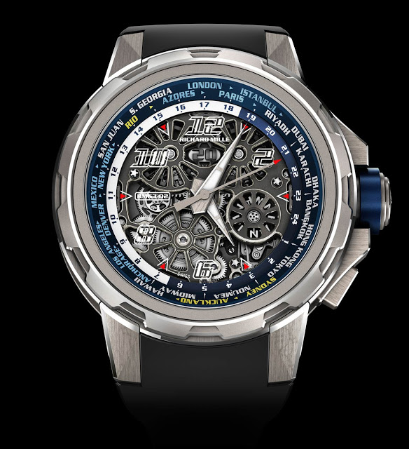 A Watch Creat For Travellers-Richard Mille 63-02 World Timer