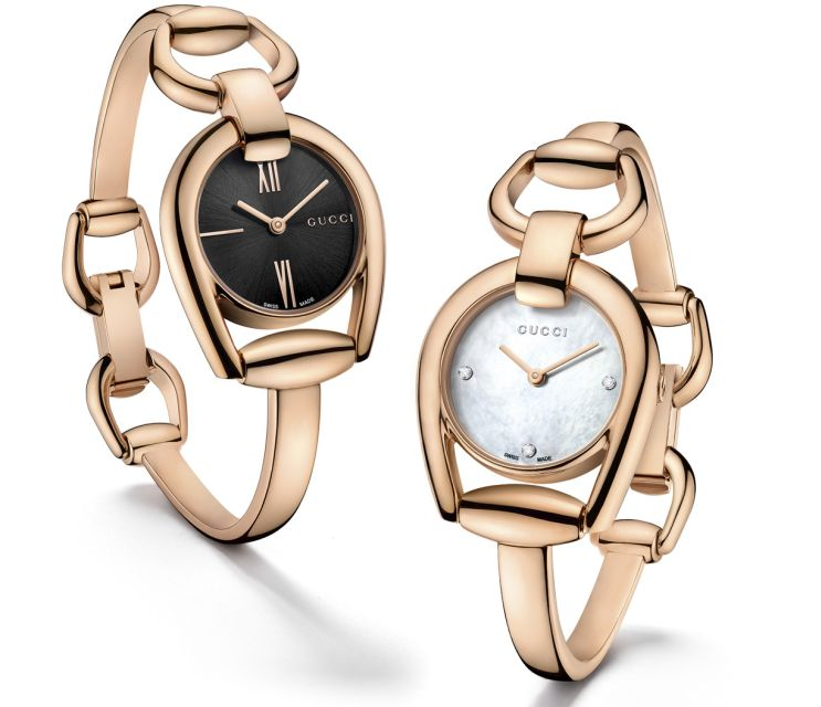 An Ideal Accessorise-Gucci Interlocking Watches