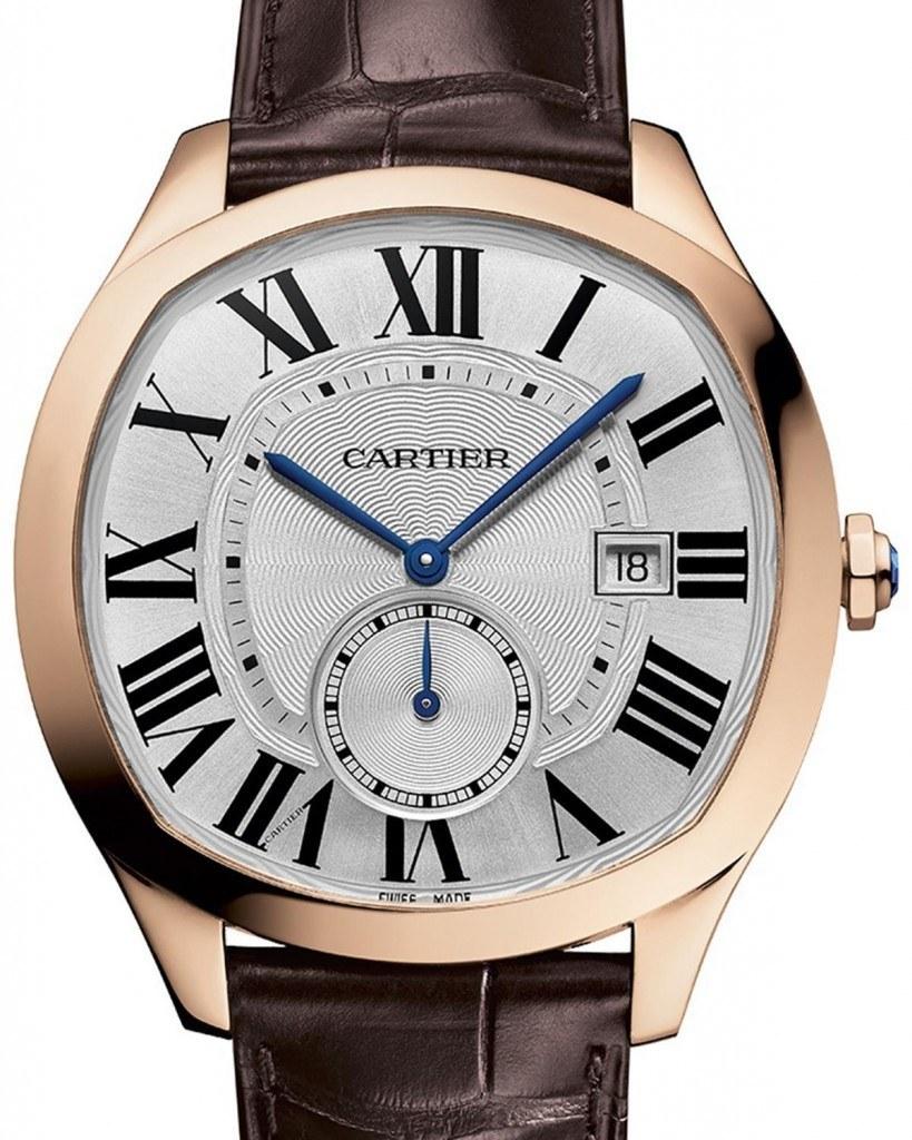 Front of Cartier Drive De Cartier watch