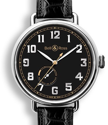 Front of Bell & Ross WW1-97 Heritage
