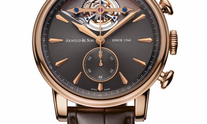 Front of Arnold & Son Royal TEC1 tourbillon watch