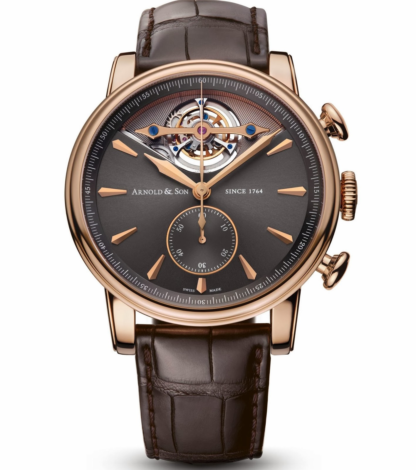 Front of Arnold & Son Royal TEC1 tourbillon watch