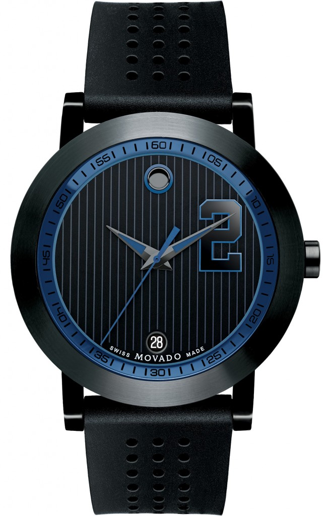 Front of Movado Derek Jeter Captain collection 03