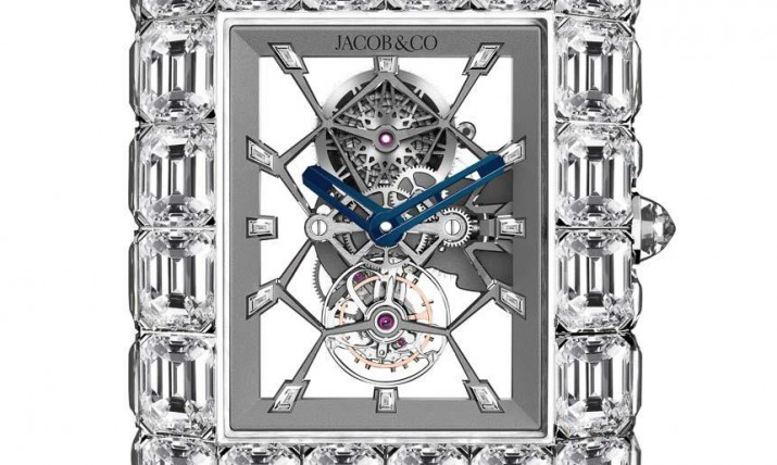 Front of Jacob & Co. Billionaire diamonds watch