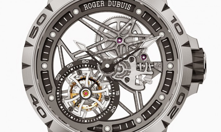 Front of Roger Dubuis Excalibur Spider Skeleton Flying Tourbillon