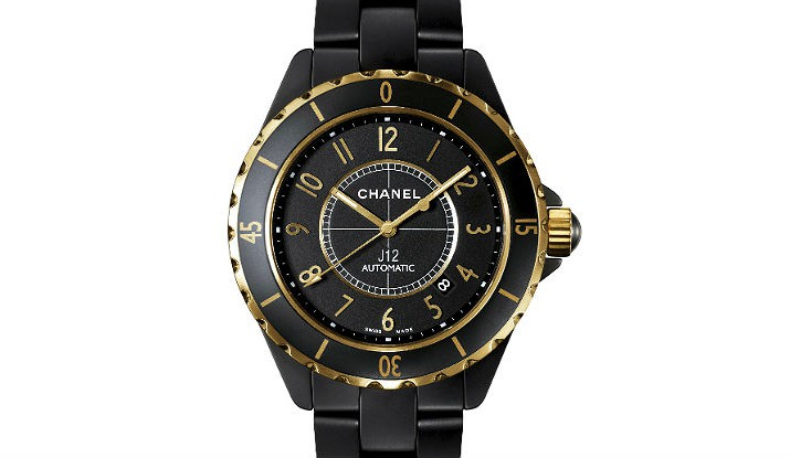 Front of Chanel J12 Calibre 3125 watch