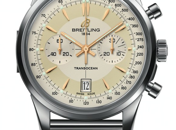 Front of Breitling Transocean Chronograph