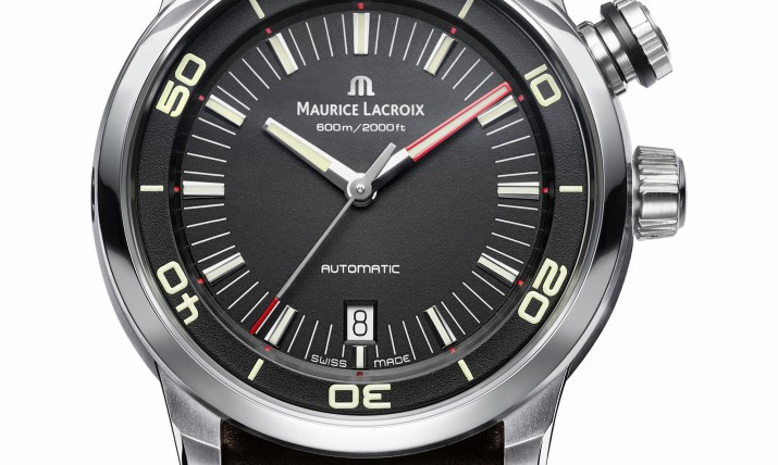 Front of The Maurice Lacroix Pontos S Diver