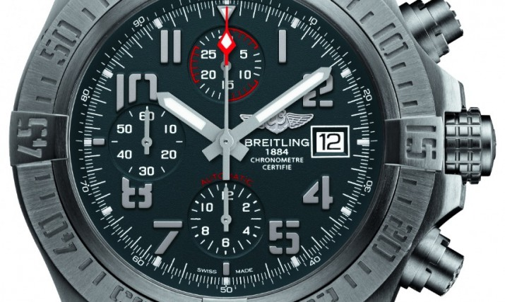 Front of Breitling Avenger Bandit watch
