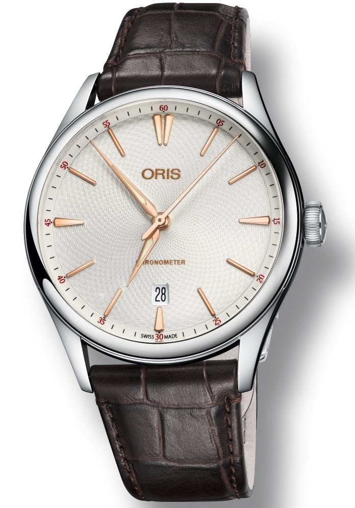 Front of Oris Artelier Chronometer Date watch