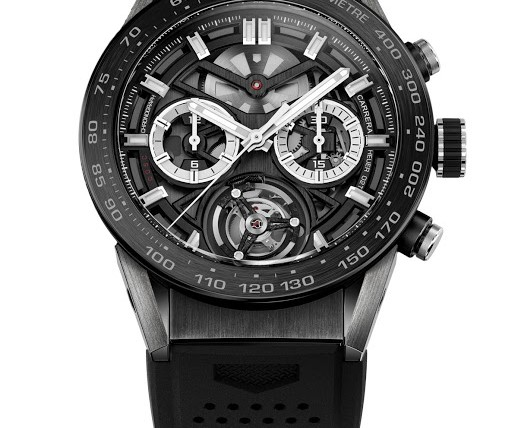 Front of Tag Heuer Carrera Heuer-02T tourbillon