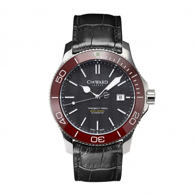 Front of Christopher Ward C60 Trident Pro 600 diving watch