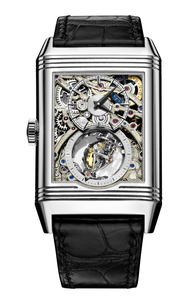 Front of Jaeger-LeCoultre Reverso Tribute GyrotourbillonJaeger-LeCoultre Reverso Tribute Gyrotourbillon watch