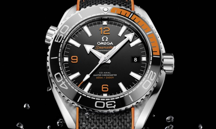 Front of Omega Seamaster Planet Ocean 43.5mm Auto 02