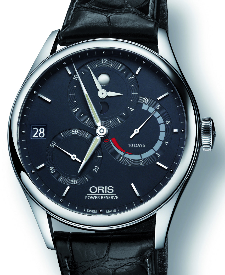 Front of Oris Calibre 112