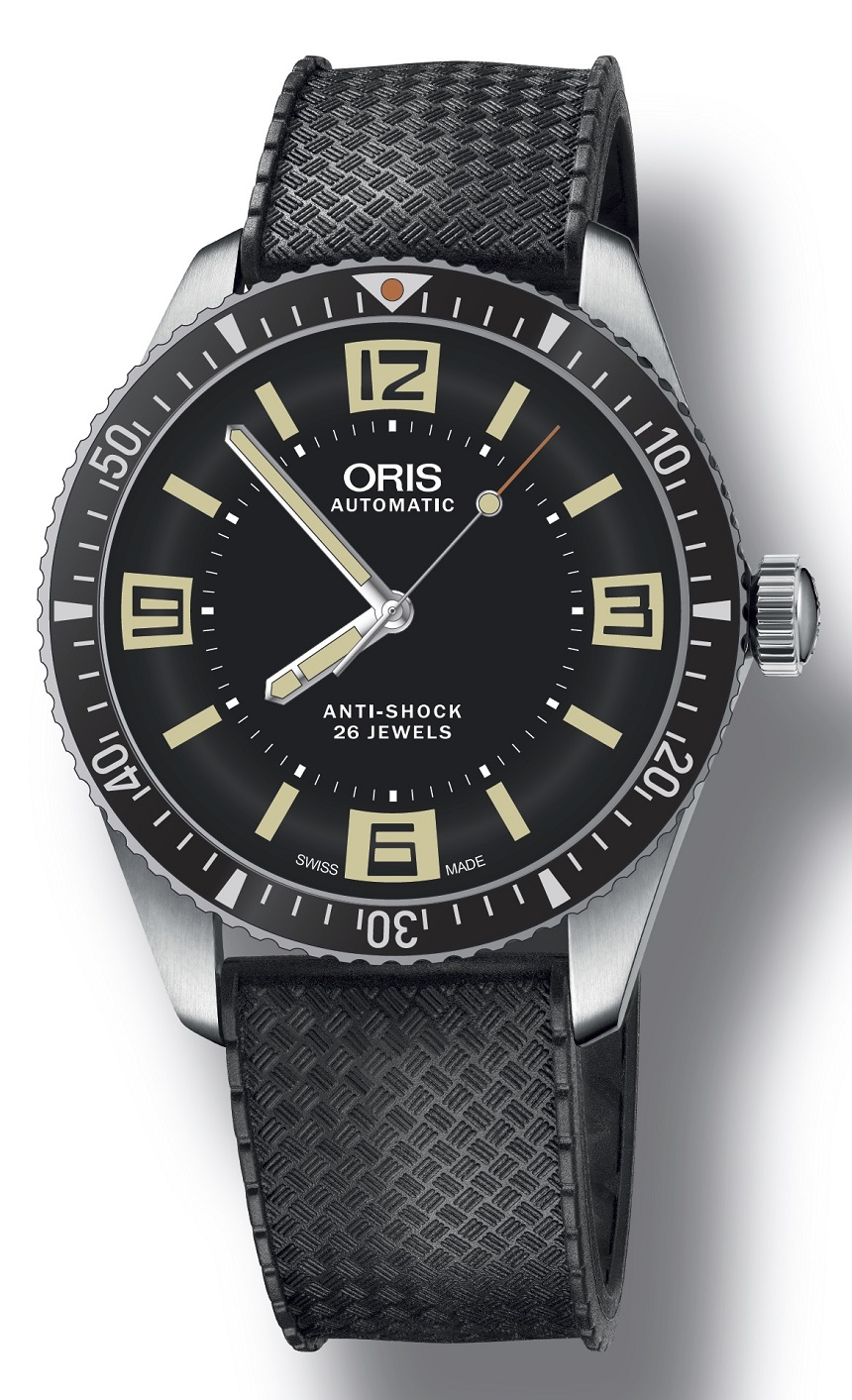 Front of Oris Divers Sixty-Five Topper Limited Edition watch 02