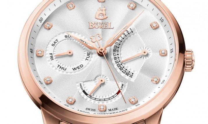 Front of Ernest Borel 160th Jules borel Limited Edition watch