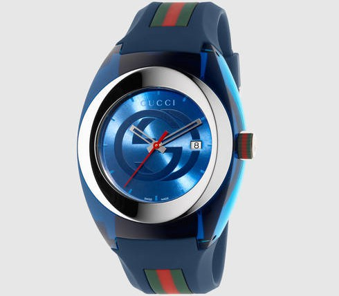 Front of Gucci Sync watch