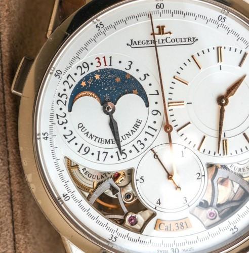 Side of Jaeger-LeCoultre Duomètre Quantième Lunaire Watch 02