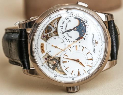 Side of Jaeger-LeCoultre Duomètre Quantième Lunaire Watch