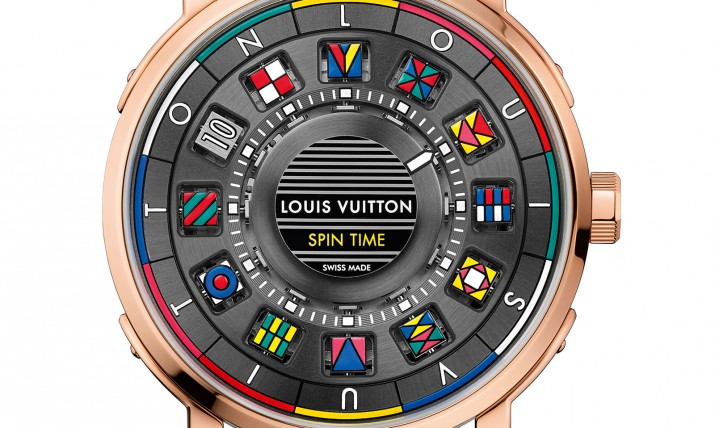 Front of Louis Vuitton Escale Spin Time