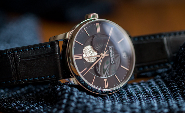 Side of Christopher Ward C9 Moonphase