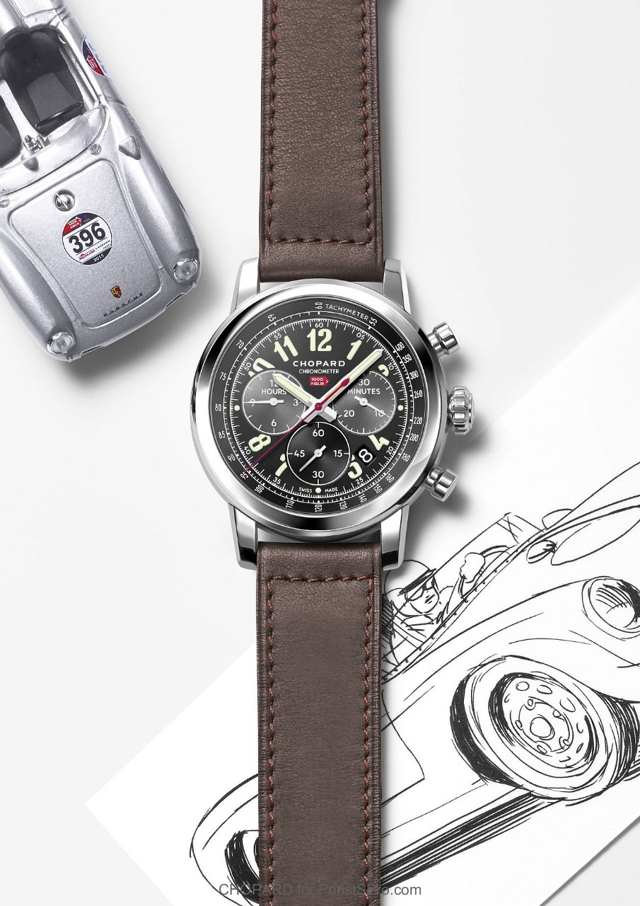 Front of Chopard Mille Miglia 2016 XL Race Limited Edition