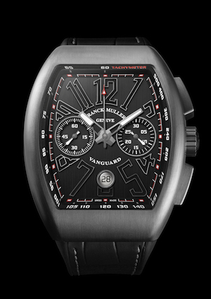 Front of Franck Muller Vanguard Chronograph