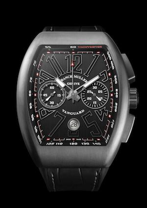 Front of Franck Muller Vanguard Chronograph