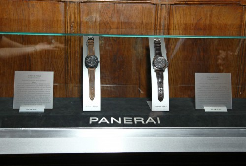 Panerai held the Dive Into Time exhibition in Florence