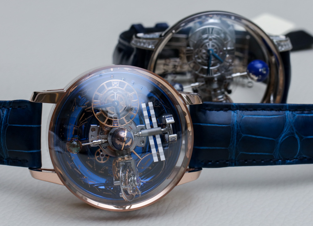 Jacob Co. Astronomia Sky Celestial Panorama Gravitational Triple Axis Tourbillon