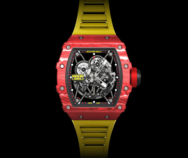 Front of Richard Mille RM 35-02 Rafael Nadal