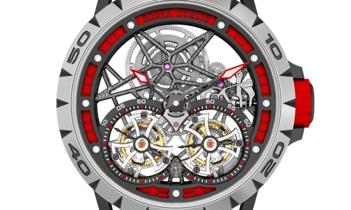 Roger Dubuis Excalibur Spider Double Flying Tourbillon