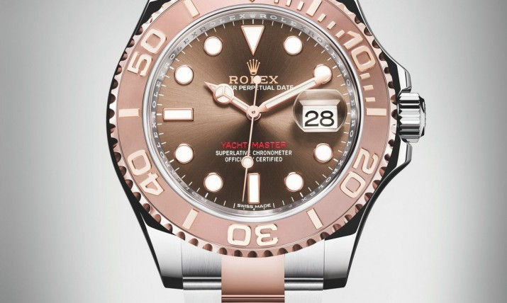 Front of Rolex Yacht-Master 40