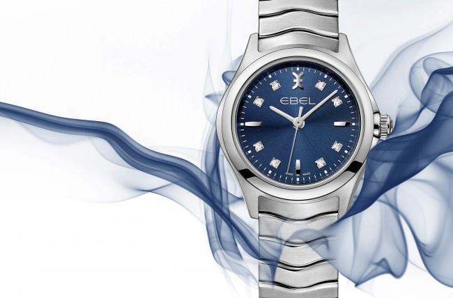 Ebel Blue Lady watch