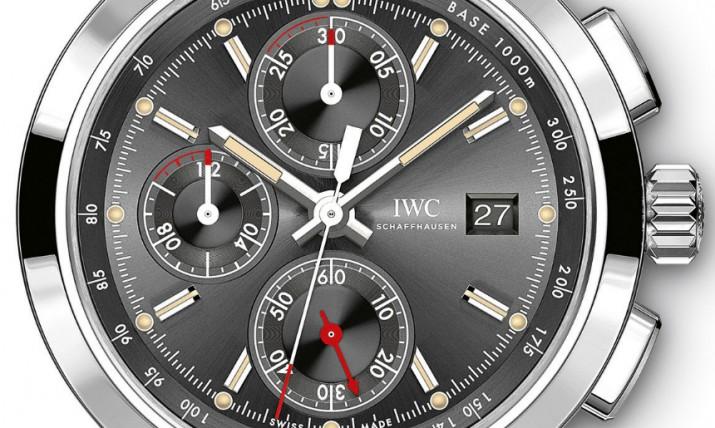 """IWC's Chronograph Edition """"Rudolf Caracciola"""" watch"""