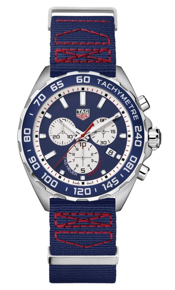 Front of TAG Heuer Formula 1 Red Bull Racing Special Edition Watch