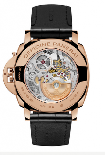 Panerai Luminor Due PAM675 caseback