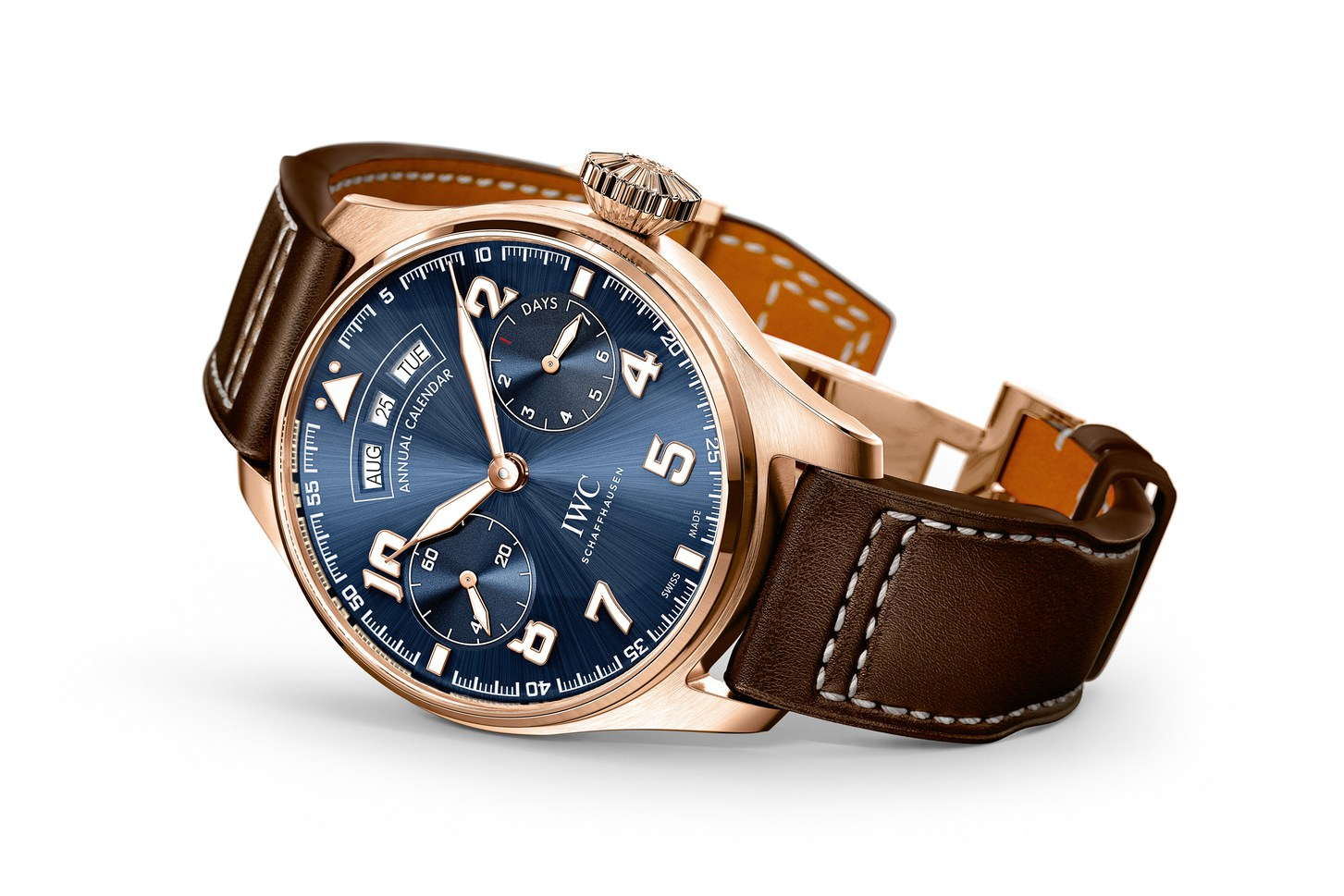 "Side of IWC Big Pilot's Watch Annual Calendar Edition ""Le Petit Prince"""